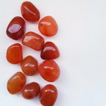 Carnelian Tumble Stones