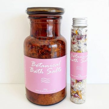 Botanical Bath Salts Large and Small